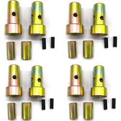 Fits Cat 1 Adapter Bushing Kit For Quick Hitch 1-7/16 Od 7/8 Id 4 Length