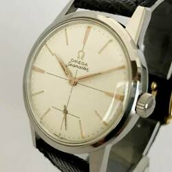 Rare Swiss Brand Omega Seamaster 1950 Antique Menand039s Watches Mechanical