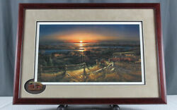 Best Friends Numbered Print By Terry Redlin Encore 1989 - Nicely Framed
