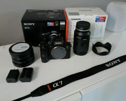 Sony A7iii Bundle Tamron 28-75mm F/2.8 Lens And 4 Moment Filters