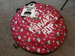 Privacy Pop Bed Tent- Hello Kitty- Queen Size