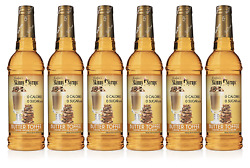 Jordan's Skinny Syrups Butter Toffee, Sugar Free Coffee Flavoring Syrup, 25.4 Of