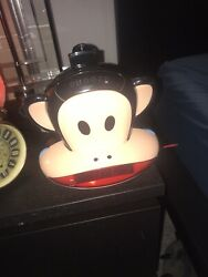 PAUL FRANK JULIUS MONKEY PROJECTION CLOCK RADIO AM FM NICE PRE OWNED CONDITION