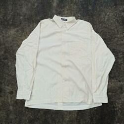 Issey Miyake 80s 90s Old Design Long Sleeve Shirt White Color Men's Size L Used