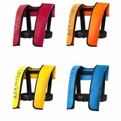 Adult Manual/ Automatic Inflatable Life Jacket Inflation Survival Vest Lin