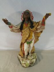 Vintage 1981 Universal Statuary Indian Chief