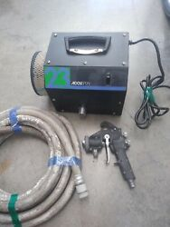 Accuspray 23 Series Hvlp Turbine System With Hose 10 Pro Gun💲look💲great Cost