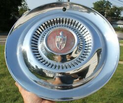 One 1954 1955 Lincoln Mark Continental Premier Town Car Hubcap Wheel Cover