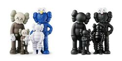 🔥kaws Family Figure Both Brown/blue/white And Black Sets - Confirmed Order🔥