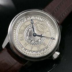 [] Design Antique Limited Chronograph Jacket Draw Ball Watch Vintage