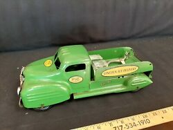 1940s Lincoln Toys Ice Delivery Truck Pressed Steel Toy