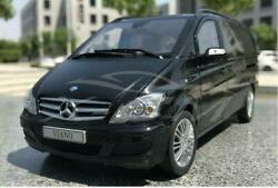 New 1/18 Benz Viano Mpv Metal Diecast Model Car Gifts Collection Display Black