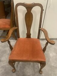 8 6 Sides, 2 Ends Ethan Allen Queen Anne Dining Room Chairs