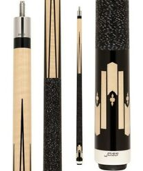 JOSS POOL CUE  JOS69 with 2 shafts 13mm each