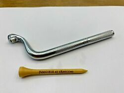 Snap-on Tools Usa Rare 7mm 6pt Knurled 90 Degree Brake Bleeder Wrench S5927