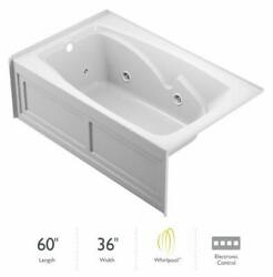 Jacuzzi Cts6036 Wlr 2hx 60 X 36 Cetra Three Wall Alcove Comfort - White