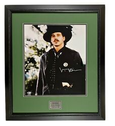 Val Kilmer Autograph Signed 16x20 Tombstone Photo Framed Doc Holliday Beckett