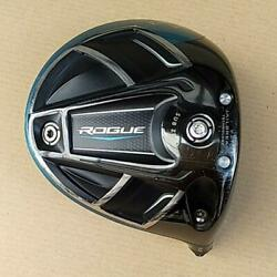 Callaway Rogue Subzero 9.0 Driver Head Only Golf From Japan