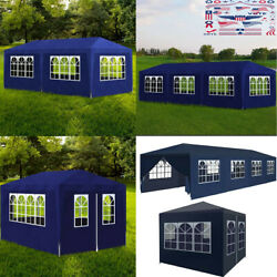 Party Tent Canopy Pavilion Heavy Duty Outdoor Bbq Wedding Gazebo Events Blue Us