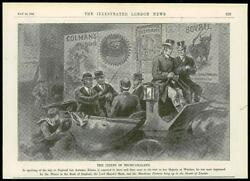 1896 Antique Print - Advertising Posters Chiefs Bechuanaland London 61