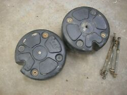Toro Wheel Horse 520-h Tractor Plastic Coated Cement Wheel Weights Fit 12 Rims
