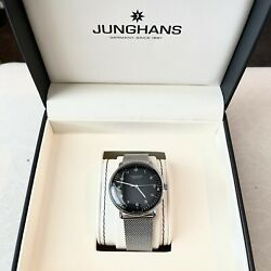 Junghans 027/3400.00 Max Bill 38mm All Stainless Steel - Men Automatic Watch