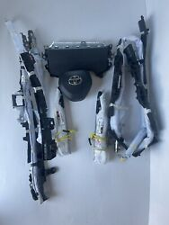 20202021 Toyota Corolla Wheelkneeseat Landr Roof Curtains Left And Right Airbags