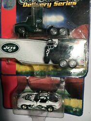 2006 Ertl New York Jets Diecast Dodge Viper 164 And Tractor Trailer 187 Lot