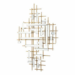 Uttermost 04128 Gold Apollo 46 X 33 Wall Sculpture By Jim Parsons
