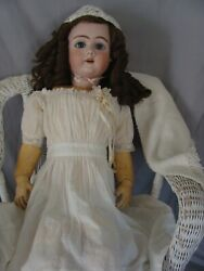 Large Antique German Doll, 32 Heinrich Handwerck, Dep, Ball Jointed Compo Body