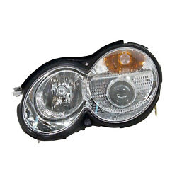 Mb2502132 New Head Lamp Assembly Driver Side W/hid