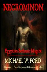Necrominon Egyptian Sethanic Magick By Ford Mr. Michael W Book The Fast Free