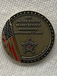 Us Secret Service Remembers 9/11 Challenge Coin
