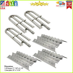 Stainless Steel Replacement Grill Burner Heat Plate Repair Kit For Perfect Flame