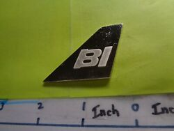 Braniff International Airlines Tail Fin Wing U.s. Plane Silver Bar Very Rare B
