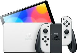 Nintendo Switch Oled Console, W/ White Joy-con Pre-order Free Shipping 🚚💨