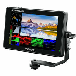 Feelworld Lut7s 7 Inch Camera Field Monitor 2200nits 3g-sdi Touch Screen 3d Lut