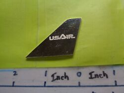 Us Air Airlines Airway Tail Fin Wing Plane United States Silver Bar Very Rare B
