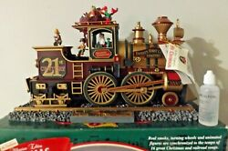 1999 Mr Christmas Cannonball Train Music And Motion W/ 16 Songs And Smoke / Tested