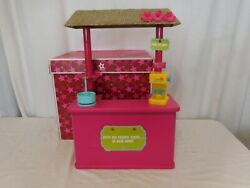 American Girl Of The Year 2011 Kanani Shave Ice Stand + Box Retired