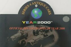 Series 4 Antique Cars Pin Collection Year 2000