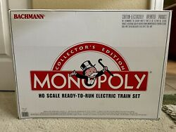 Vintage 1998 Bachmann Collector's Edition Monopoly Ho Train Set New