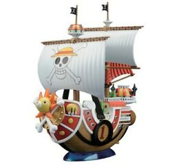 One Piece Anime Action Figures Pirates Boat Thousand Sunny Assembly Pvc Toy