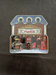 Coca Cola Cinema Limited Edition Plate By Sandi Lebron 1999 Plate Number Ra 2905