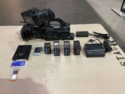 Sony Pmw-300 1/2 Xdcam Professional Hd Camcorder - 348 Hours Pro Bundle Case