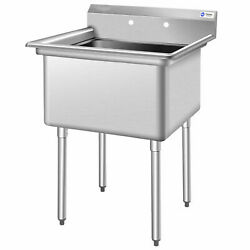 Nsf Stainless Steel Utility Sink 30 Single Bowl Commercial Kitchen Sink