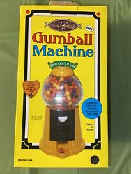 New Plastic Mini Gumball Machine Antique Style Body Base And Coin Bank Dispenser