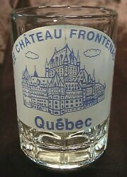 Miniature Shot Glass Mug Beer Stein Le Chateau Frontenac Quebec Holds 2 Ounce
