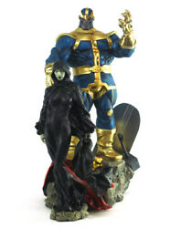 Sideshow Thanos And Mistress Death Diorama Statue Marvel Sample Infinity Gauntlet