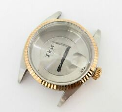 .auth 1968 Rolex Steel And 14k Gold Watch Case And Back 1601 1.6 Million Serialandnbsp